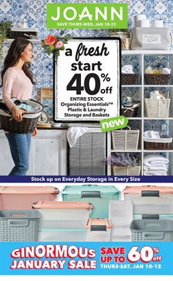 Jo-Ann deals in the San Antonio TX weekly ad