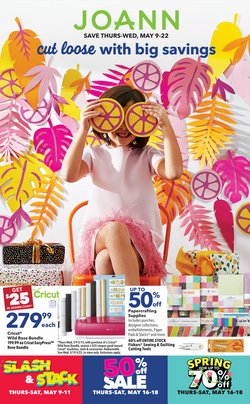 Gifts & Crafts deals in the Jo-Ann weekly ad in Greenville SC