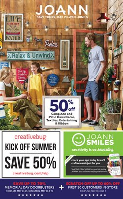 Jo-Ann deals in the Knoxville TN weekly ad