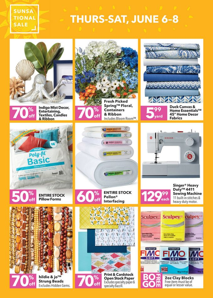 94ae714ce08 Jo-Ann Fayetteville GA   Weekly Deals & Coupons - June