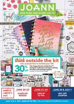 Gifts & Crafts deals in the Jo-Ann weekly ad in New York