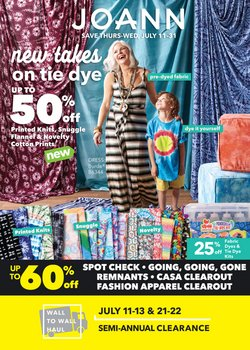 Gifts & Crafts deals in the Jo-Ann weekly ad in Modesto CA