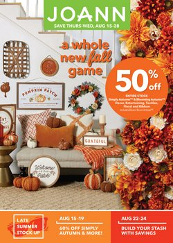 Gifts & Crafts deals in the Jo-Ann weekly ad in Chicago IL