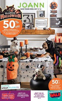 Gifts & Crafts deals in the Jo-Ann weekly ad in Fullerton CA