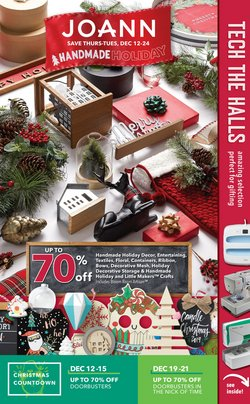 Gifts & Crafts deals in the Jo-Ann weekly ad in Pleasanton CA
