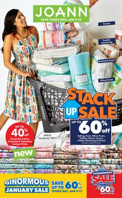 Gifts & Crafts deals in the Jo-Ann weekly ad in Owensboro KY