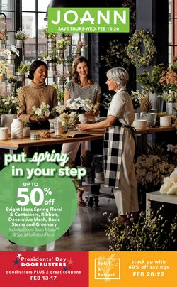 Gifts & Crafts offers in the Jo-Ann catalogue in Rochester MN ( 5 days left )
