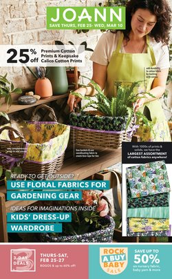 Gifts & Crafts offers in the Jo-Ann catalogue in Dallas TX ( 4 days left )