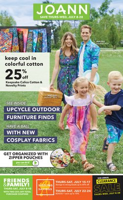 Gifts & Crafts deals in the Jo-Ann catalog ( Expires today)