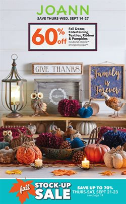 Gifts & Crafts deals in the Jo-Ann weekly ad in Houston TX