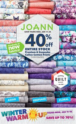 Jo-Ann deals in the Phoenix AZ weekly ad