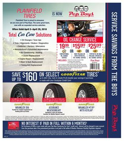 Brakes deals in the Pep Boys weekly ad in Burbank CA