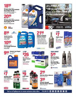 Exhaust deals in the Pep Boys weekly ad in Dearborn Heights MI