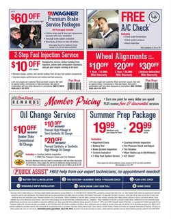Oil change deals in the Pep Boys weekly ad in Roswell GA