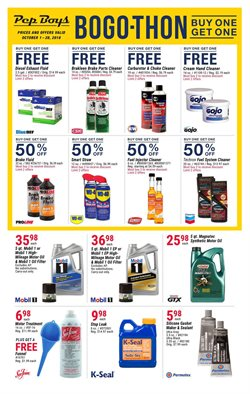 Brakes deals in the Pep Boys weekly ad in Delray Beach FL