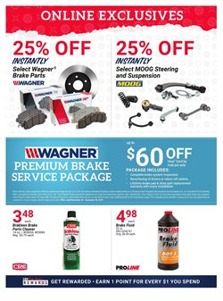 Brakes deals in the Pep Boys weekly ad in Lakewood WA