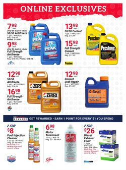 Antifreeze deals in the Pep Boys weekly ad in Stone Mountain GA