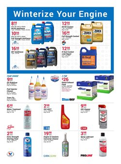 Antifreeze deals in the Pep Boys weekly ad in Allentown PA