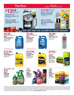 Pep Boys deals in the Houston TX weekly ad