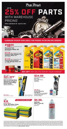 Automotive offers in the Pep Boys catalogue ( 5 days left )