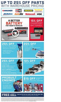 Philips deals in the Pep Boys catalog ( 24 days left)