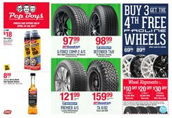 Automotive deals in the Pep Boys weekly ad in Los Angeles CA