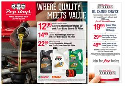 Pep Boys deals in the Philadelphia PA weekly ad