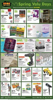 Valu Home Centers catalogue ( Expires tomorrow )