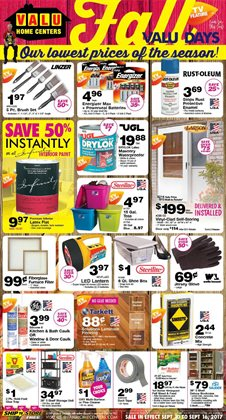 Valu Home Centers Deals In The Meadville PA Weekly Ad