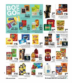 Juice deals in the CVS Pharmacy weekly ad in New York