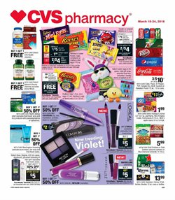 CVS Pharmacy deals in the Warsaw IN weekly ad