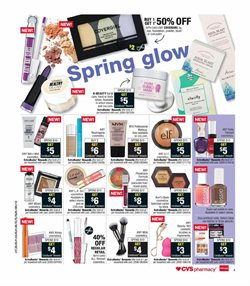 Makeup deals in the CVS Pharmacy weekly ad in Whittier CA