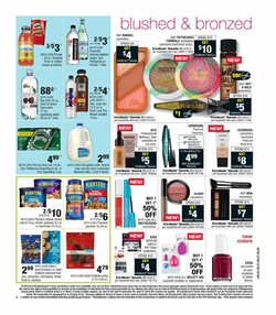 Makeup deals in the CVS Pharmacy weekly ad in San Jose CA