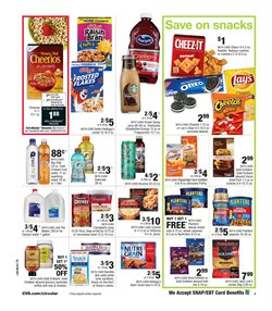 Pizza deals in the CVS Pharmacy weekly ad in New York