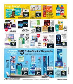 Pharmaceutical products deals in the CVS Pharmacy weekly ad in New York
