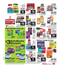 Exhaust deals in the CVS Pharmacy weekly ad in New York