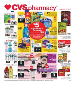 CVS Pharmacy deals in the Michigan City IN weekly ad