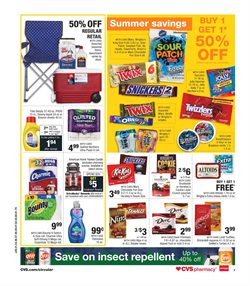 Candle deals in the CVS Pharmacy weekly ad in New York