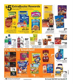 Cheerios deals in the CVS Pharmacy weekly ad in New York