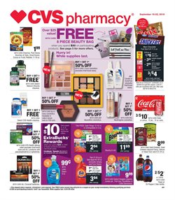 CVS Pharmacy deals in the New York weekly ad