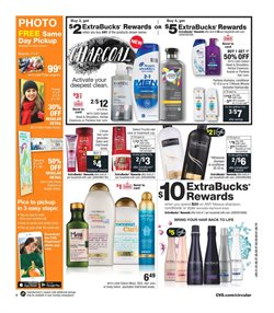 Oil deals in the CVS Pharmacy weekly ad in New York
