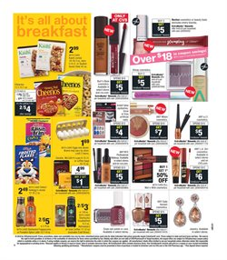 Makeup deals in the CVS Pharmacy weekly ad in New York