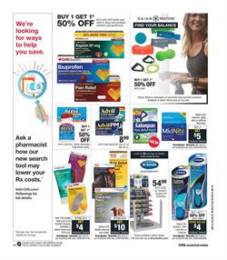 Tablet deals in the CVS Pharmacy weekly ad in New York