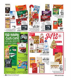 Snacks and nuts deals in the CVS Pharmacy weekly ad in New York