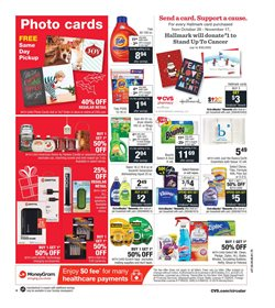 Tissues deals in the CVS Pharmacy weekly ad in New York