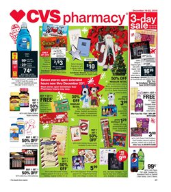 CVS Pharmacy deals in the Kenner LA weekly ad
