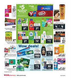 Chocolate deals in the CVS Pharmacy weekly ad in New York