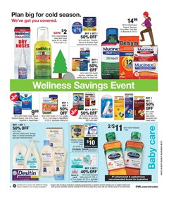 Diapers deals in the CVS Pharmacy weekly ad in New York