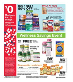 Dairy deals in the CVS Health weekly ad in New York