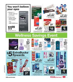 Crest deals in the CVS Health weekly ad in Yorba Linda CA